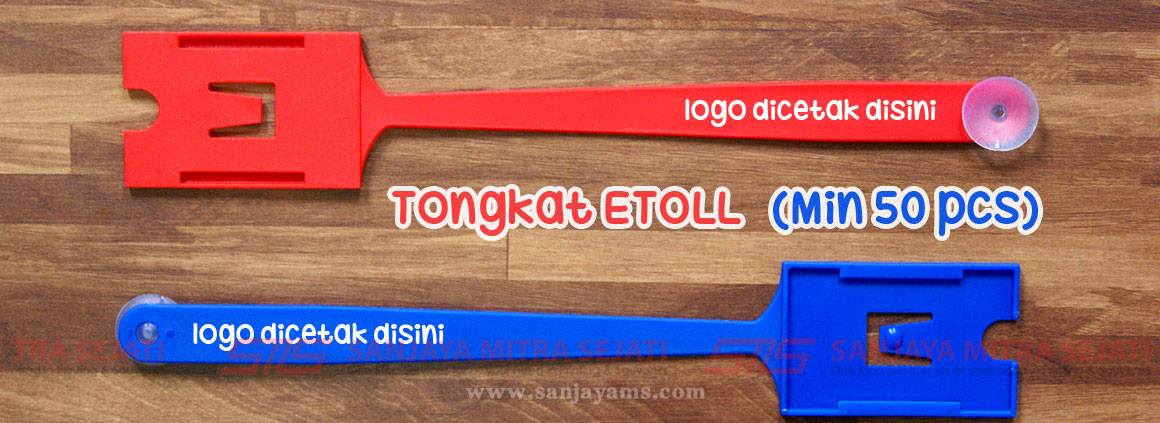 Souvenir Tongkat EToll Promosi