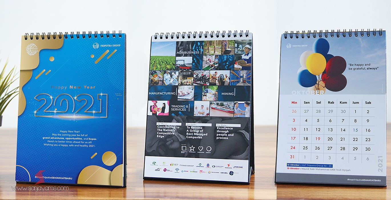 Cetak Kalender Meja PT Triputra