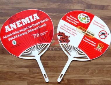 Kipas kerang menjadi alat edukasi tentang Anemia