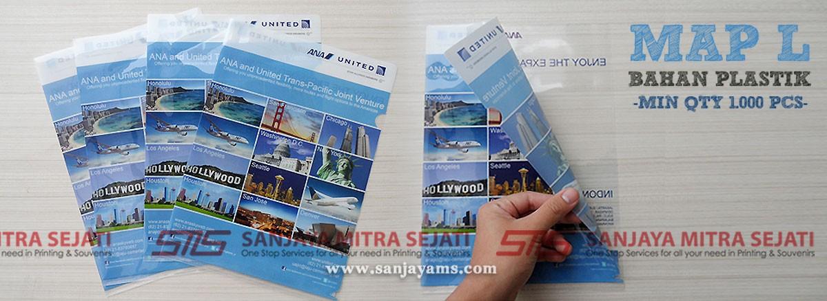 Map Plastik Ana United ukuran A4
