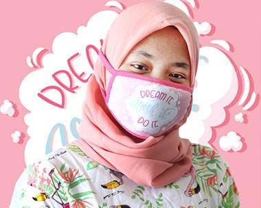 Jual Masker Kain dengan Kualitas Bahan Premium