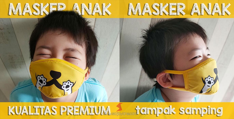 Jual Masker Kain Anak, Motif Lucu