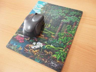 Cetak mousepad lukisan Dipo Alam