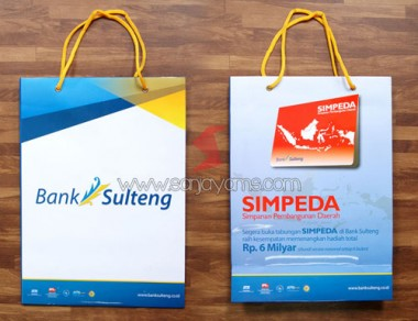 Paper Bag Bank Sulteng