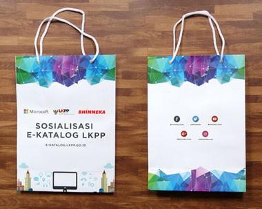 Jual Paper Bag, Tas Kertas Belanja, Promosi Perusahaan, Kualitas Terjamin, Harga MURAH dan GRATIS Pengiriman Area Jakarta