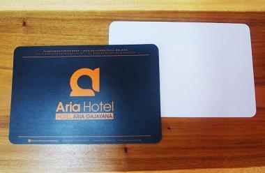 Tatakan piring Hotel Aria Malang