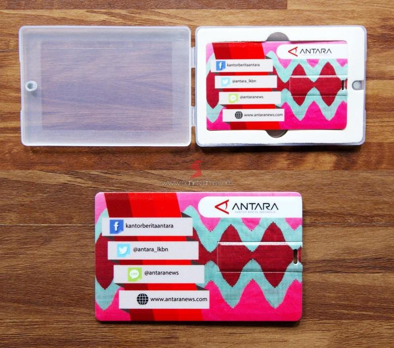 USB Kartu design Motif Batik