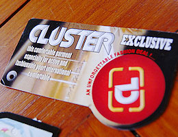 Design Label Tas Cluster""