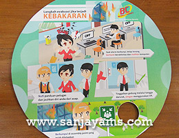 Mousepad Bank BCA