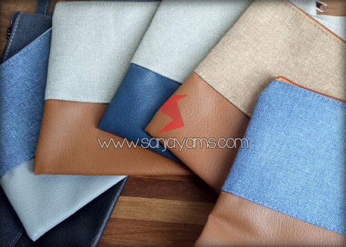 Variasi warna kulit di pouch