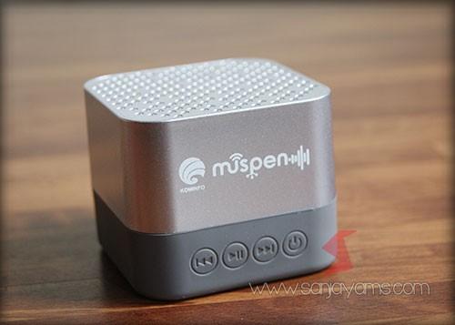 Tampilan bluetooth speaker - Muspen