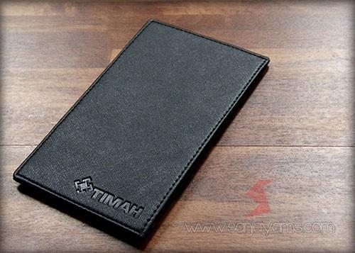 Dompet kartu ID warna Hitam
