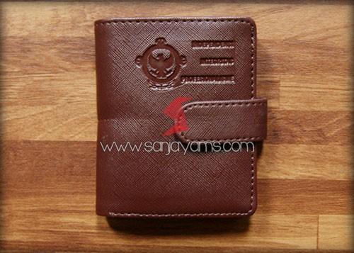 Dompet Kartu + Kancing Penutup