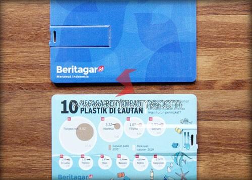 Cetakan USB Kartu Souvenir Beritagar