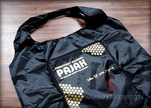 Goodie Bag dompet cetak logo KPP