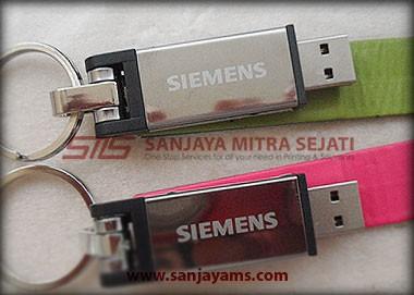 Hasil gravir logo Siemens