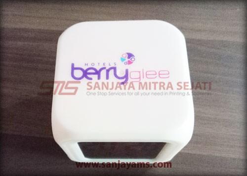 Cetak logo Hotel Berry Glee Bali