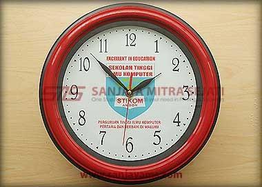 Jam promosi warna merah