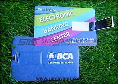 USB / Flas Disk Kartu Promosi BCA