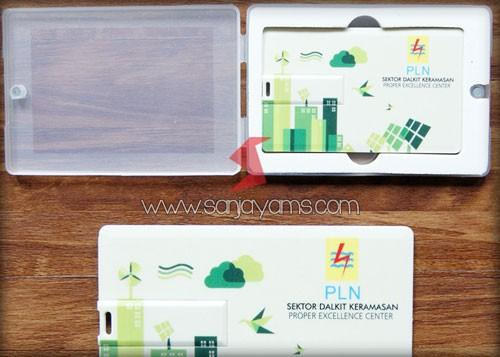 Barang Promosi USB Kartu Souvenir PLN