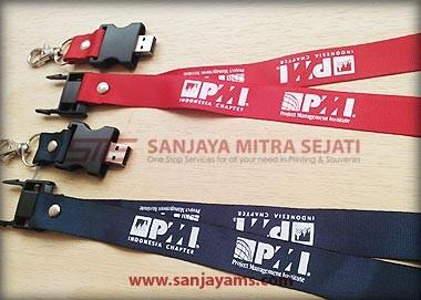USB Lanyard untuk Acara Seminar PMI