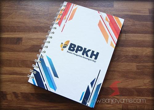Memo A5 Hard Cover Cetakan logo BPKH