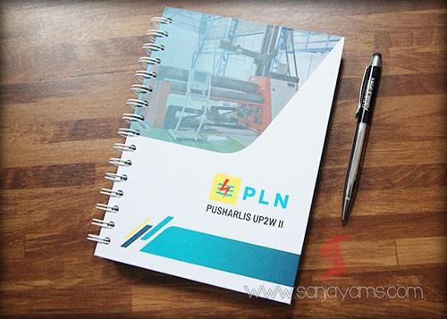 Memo Hard Cover + Pen Besi PLN