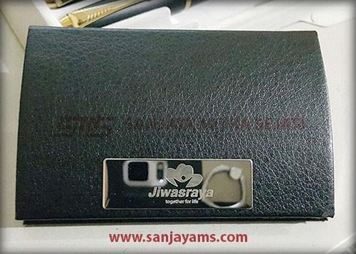 Hasil cetakan gravir logo Jiwasraya
