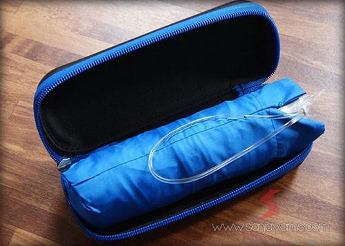 Payung Dompet dengan warna biru