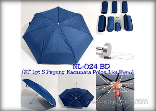 Payung Dompet warna navy