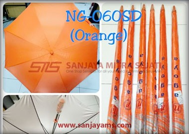 Warna payung golf orange