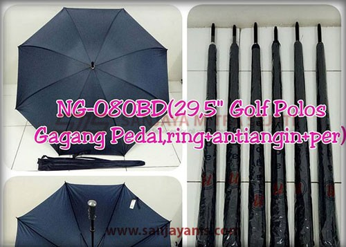 Payung golf warna biru dongker