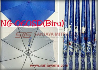 Warna payung golf biru