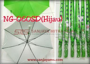 Warna payung golf hijau stabilo