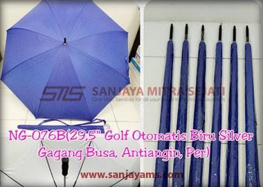 Payung golf otomatis warna biru