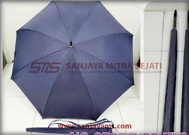 Payung golf otomatis warna biru dongker