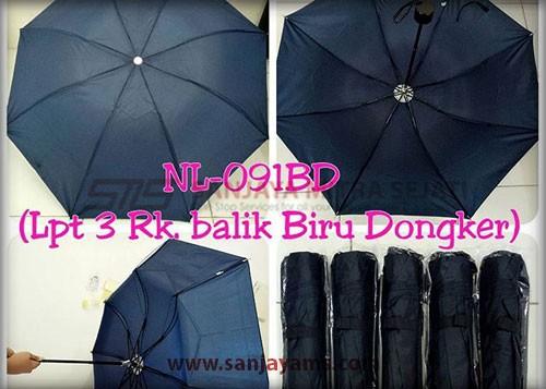 Payung warna biru dongker