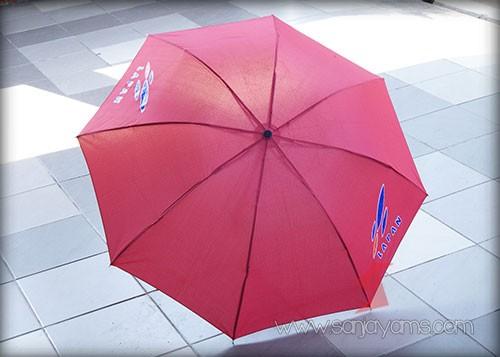 Hasil Cetakan Logo Lapan Pada 2 Sisi Payung