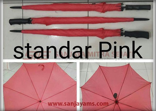 Payung warna pink