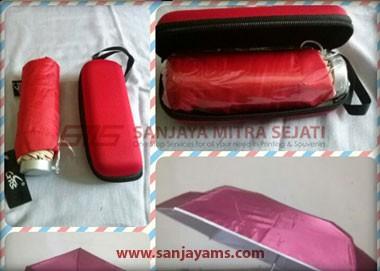 dompet payung warna merah