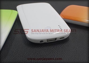 Detail powerbank