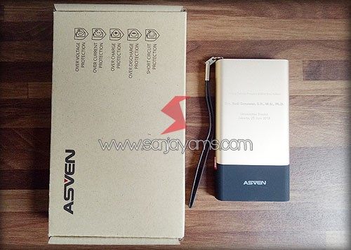 Packaging Model Recycle Powerbank ASVEN