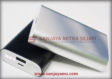 Powerbank Metal 5200 MAH (PM03)