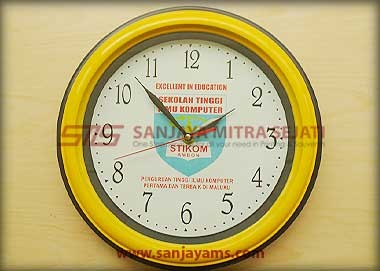 Jam promosi warna kuning