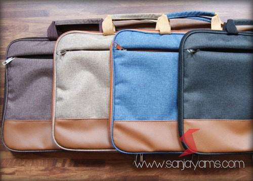 Beberapa pilihan warna pada tas laptop
