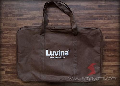Tas sarung bantal Luvina