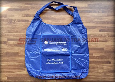 Goodie bag dompet warna biru