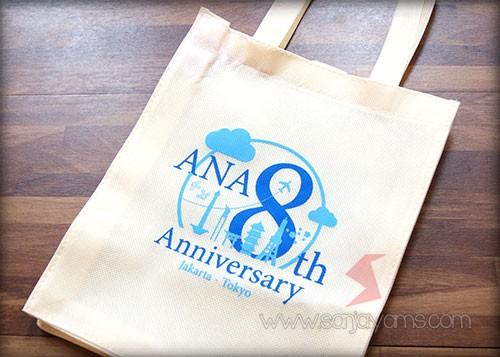 Tas spunbond dengan cetakan logo Ana United