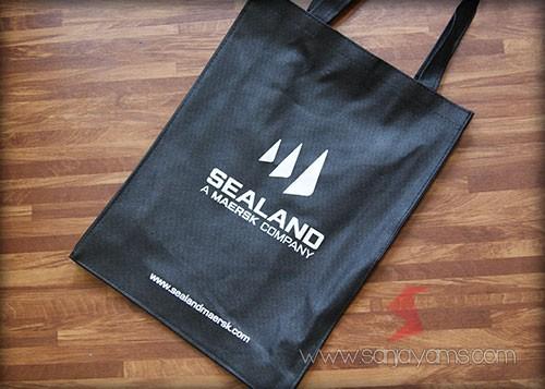 Tas Spunbond dengan cetakan logo Sealand