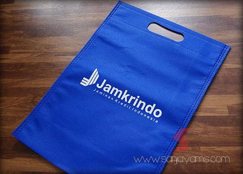 Hasil cetak Logo Jamkerindo